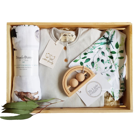 Room to Bloom Bear Hunt Baby Gift Box Hamper