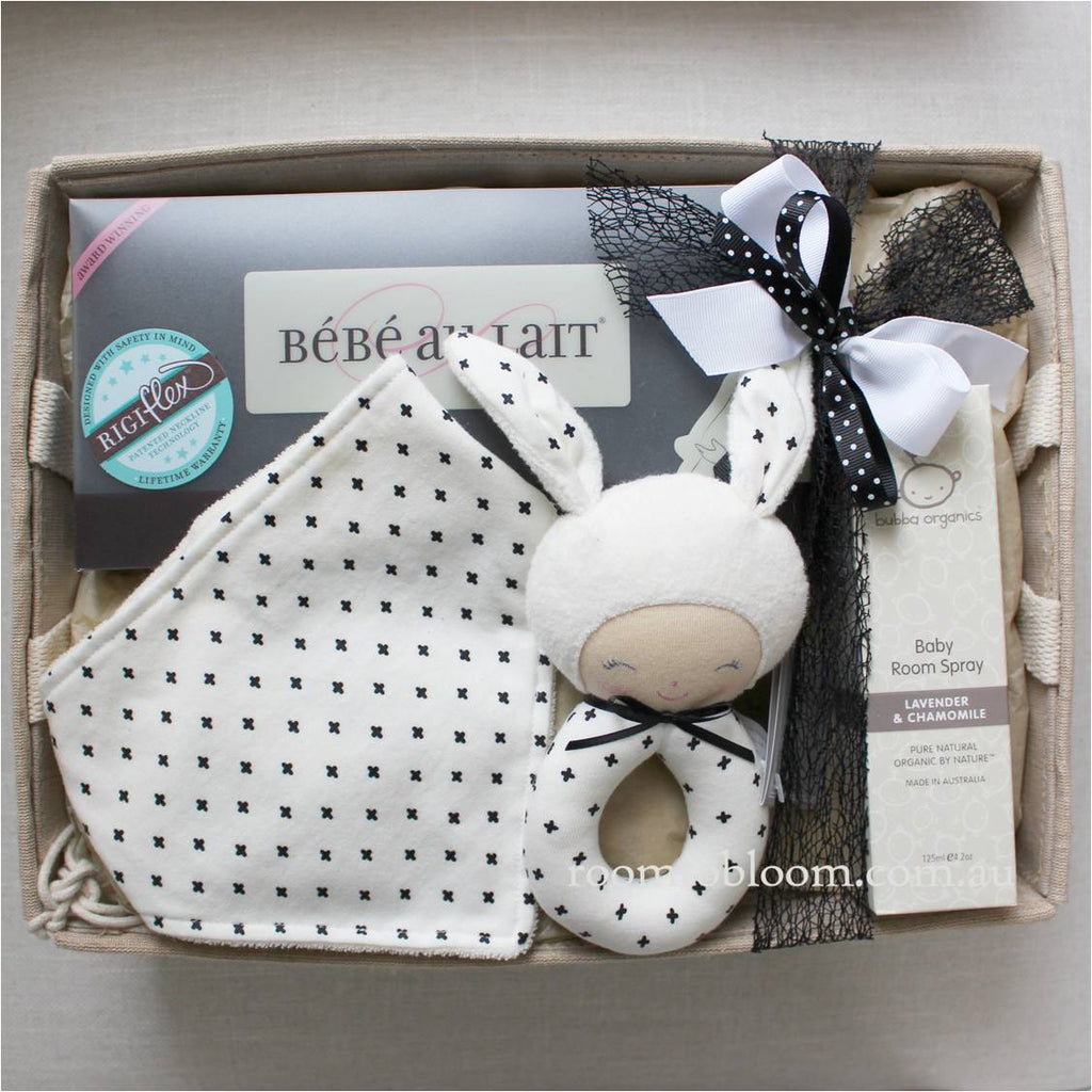 Room to Bloom Ebony and Ivory Baby Gift Hamper