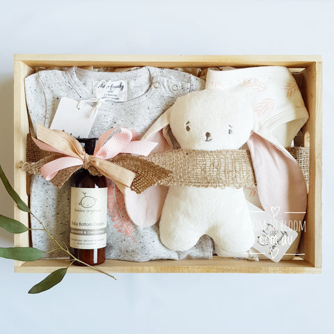 Room to Bloom Feather the Nest Baby Gift Box Hamper