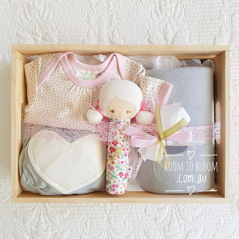Room to Bloom Flower Fairy Baby Gift Hamper