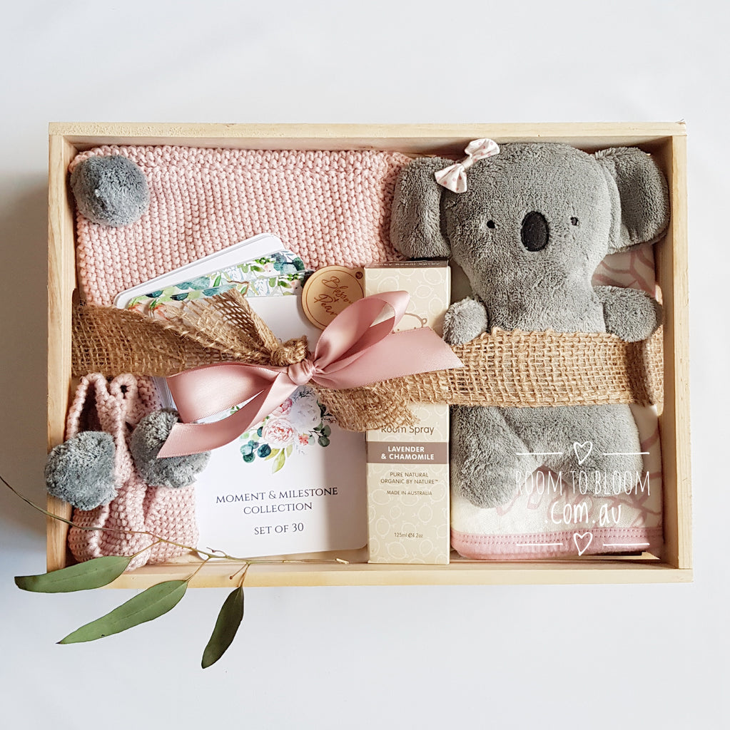Room to Bloom Gum Blossom Baby Gift Box Hamper