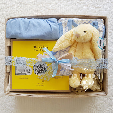 Room to Bloom Honey Bunny Baby Gift Hamper