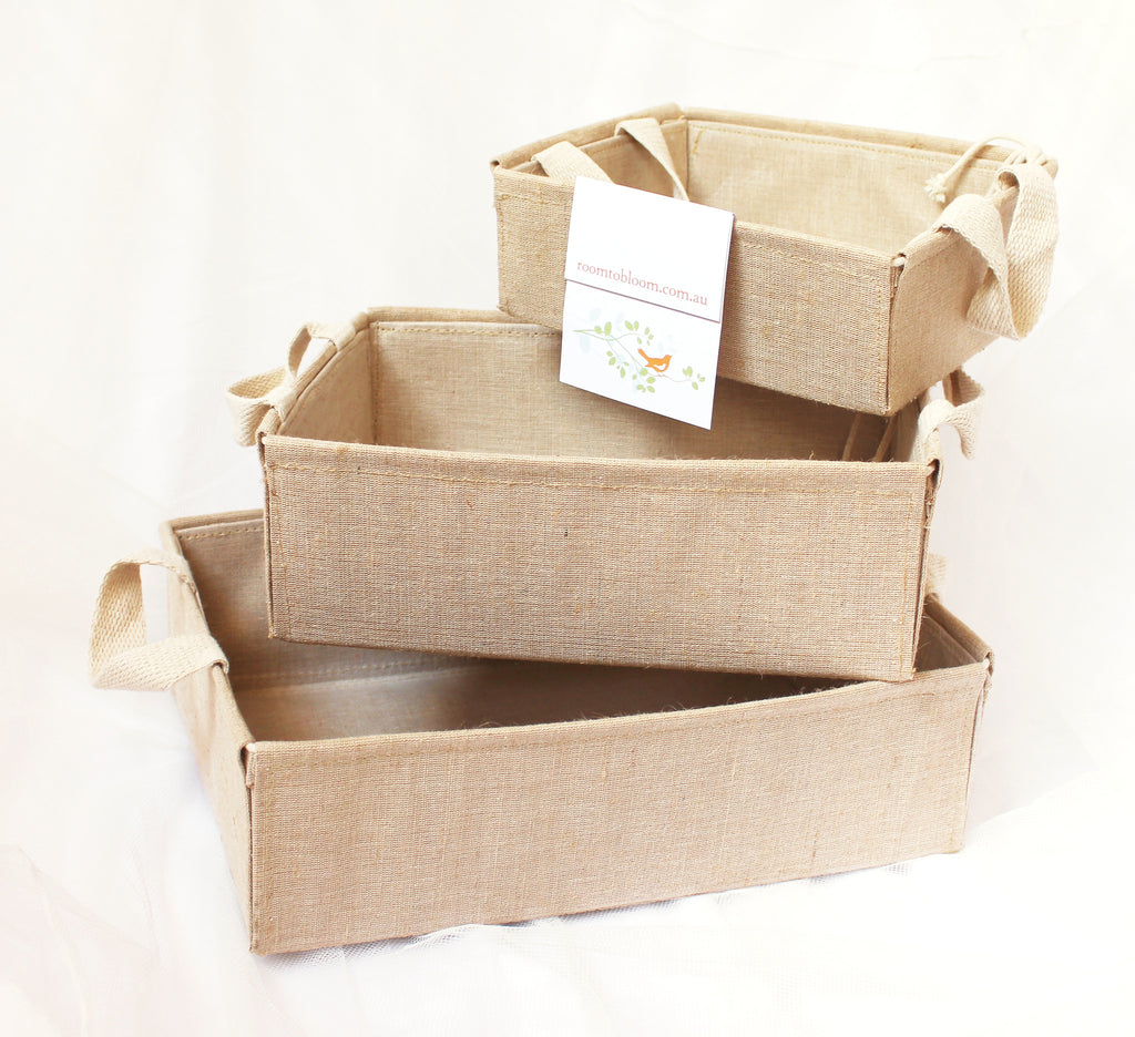 Room to Bloom Linen Gift Box