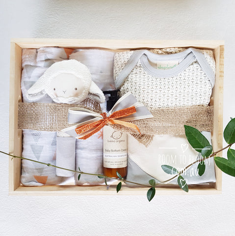 Room to Bloom Rock-a-Bye Baby Gift Hamper