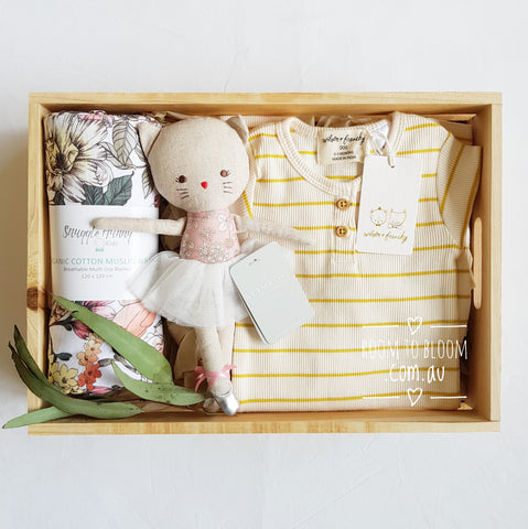 Room to Bloom Summer Fields Baby Gift Box Hamper