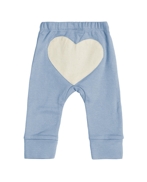 Sapling Heart Pants Little Boy Blue