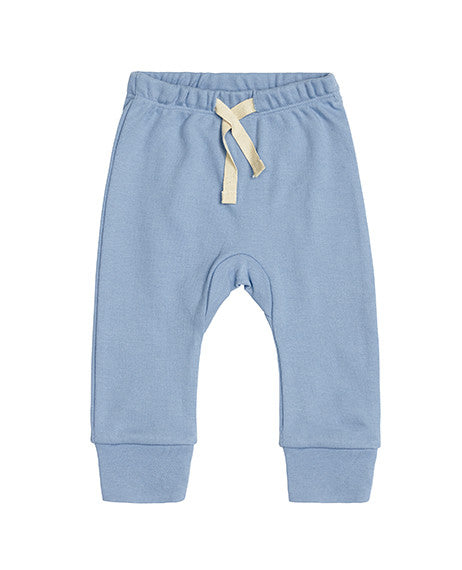 Sapling Little Boy Blue Heart Baby Pants Front