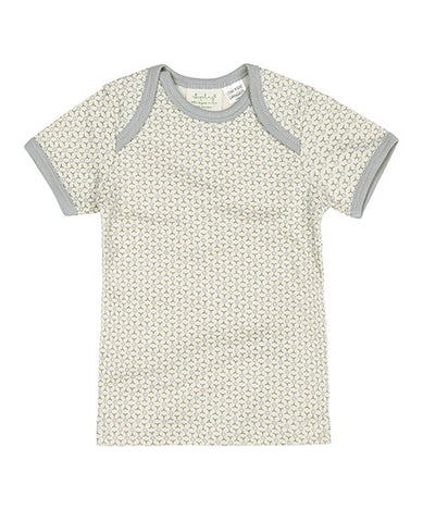 Sapling Dove Grey Short Sleeve Baby T-Shirt