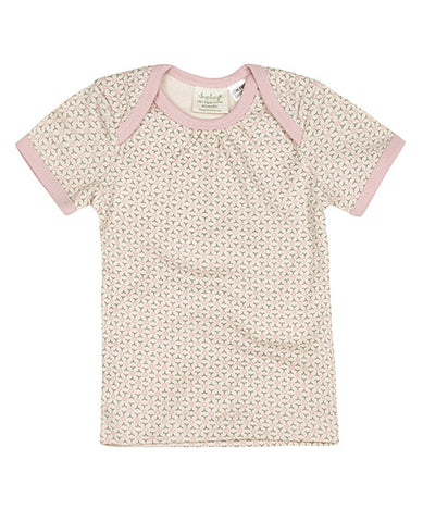 Sapling Dusty Pink Short Sleeve Baby T-Shirt