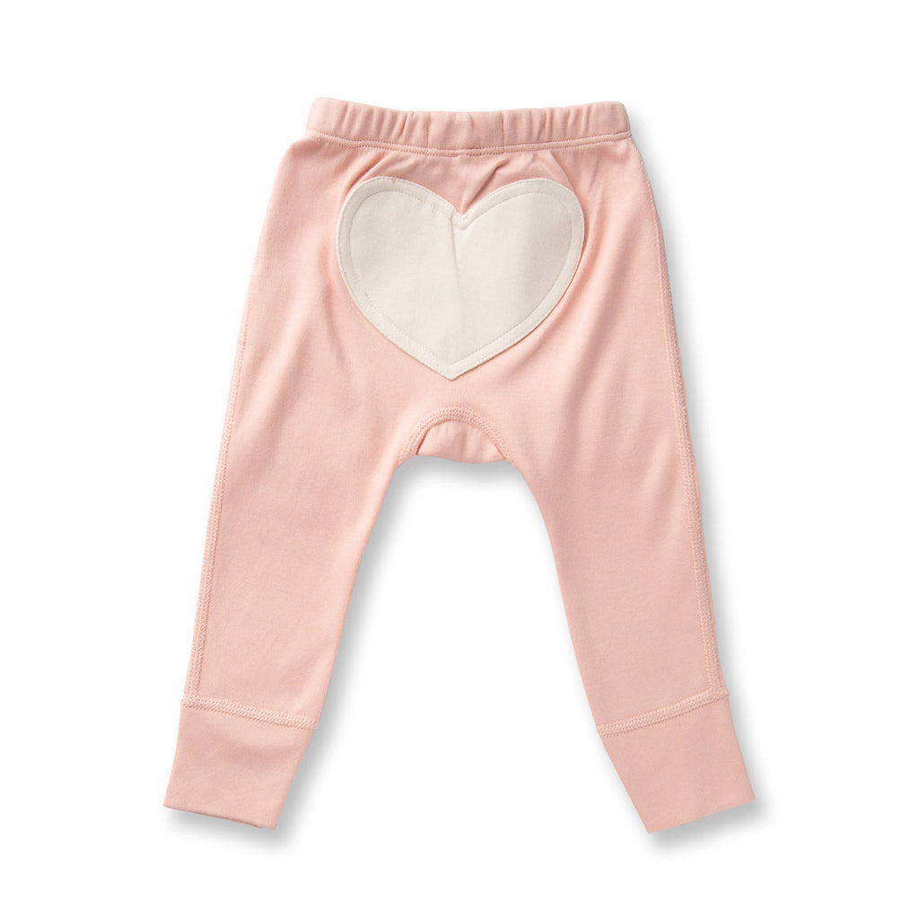Sapling Flight Collection Heart Pants - Peach Melba back