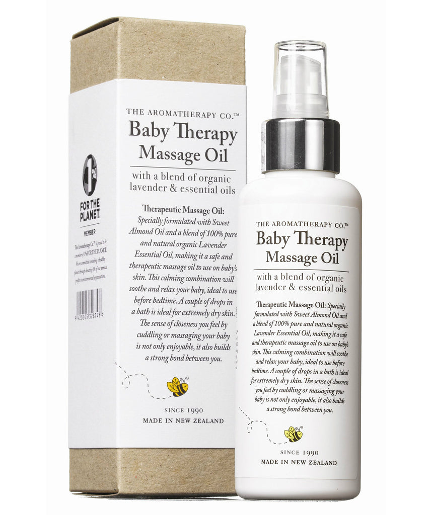 The Aromatherapy Company Baby Therapy Massage Oil 150ml