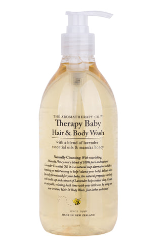 The Aromatherapy Company Therapy Baby Hair & Body Wash - 500ml