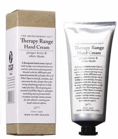 The Aromatherapy Company Therapy Range Hand Cream 75ml - Juniper Berry & White Thyme