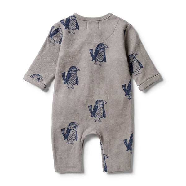 Wilson & Frenchy French Terry Slouch Growsuit - Mighty Eagle back