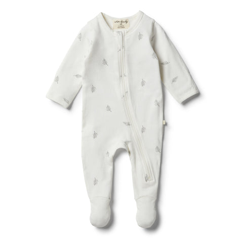 Wilson & Frenchy Organic Float Away Zipsuit front