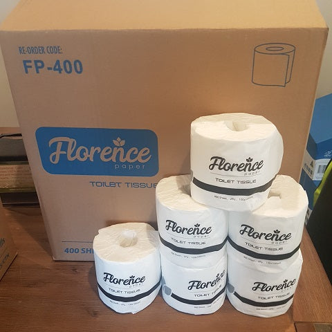 Florence 2ply 400 Sheet 48 Carton
