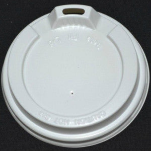 12-16oz White Lid to Suit Paper Hot Drink Cups -ctn 500