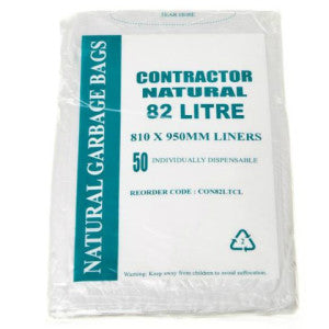 82 L Natural Bags Carton 250