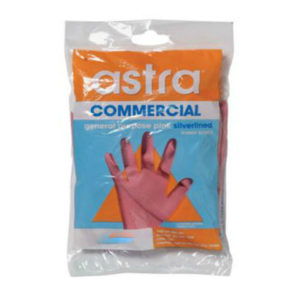 Astra Pink Silverlined Glove Carton 144