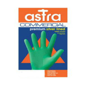 Astra Premium Silverlined Glove Green Carton 144