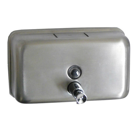 Soap Dispenser Stainless Steel Horizontal