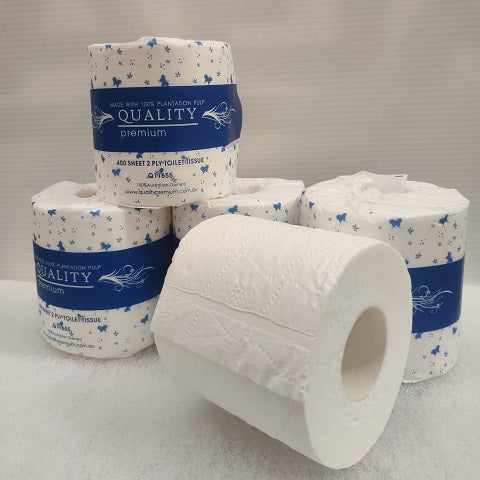 QUALITY PREMIUM 2 PLY 400 SHEET CARTON 48