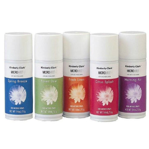Kimcare Micromist Airfreshener Refill Assorted Pack