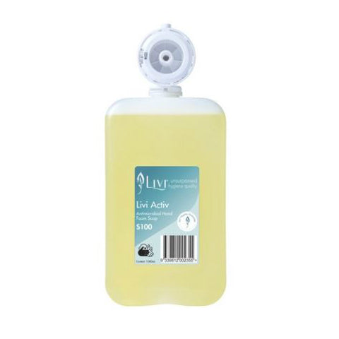 Livi Activ Antimicrobial Hand Foam Soap