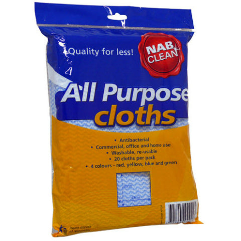 All Purpose Cloths Pack 20