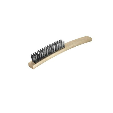 Brazing Brush 4 Row Stainless Steel