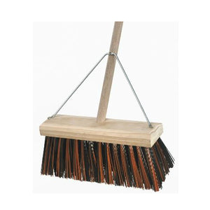 350mm Poly Yard Broom Handled