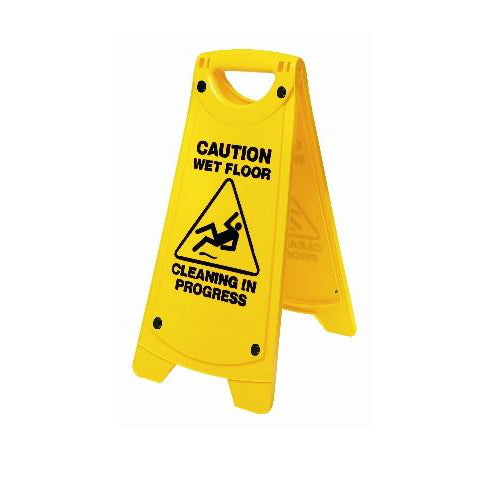 """A"" Frame Caution Wet Floor Sign"