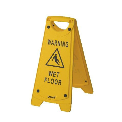 """A"" Frame Wet Floor Sign"