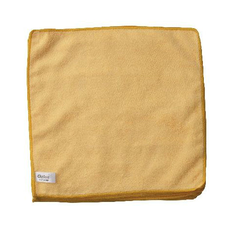 VALUE MICROFIBRE CLOTH YELLOW PKT 10