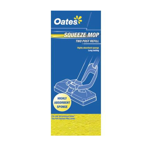 2 post squeeze mop refill. Fits MS-001
