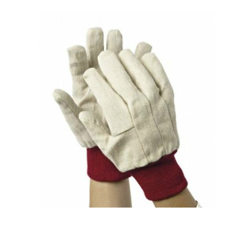 White Calico Gloves