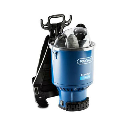 PacVac Safety Pro Duo Back Pack Vacuum Cleaner