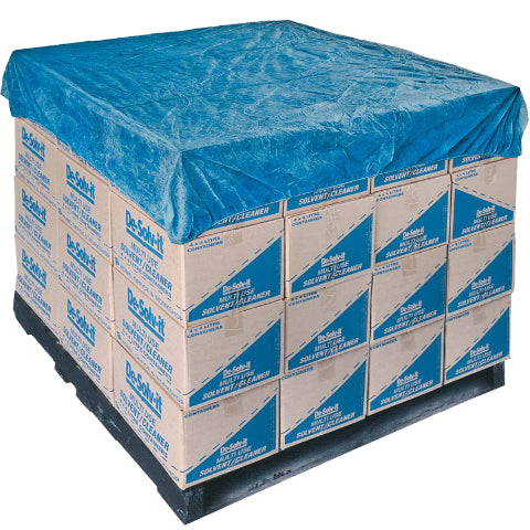 Blue CPE Pallet Covers Pkt 50