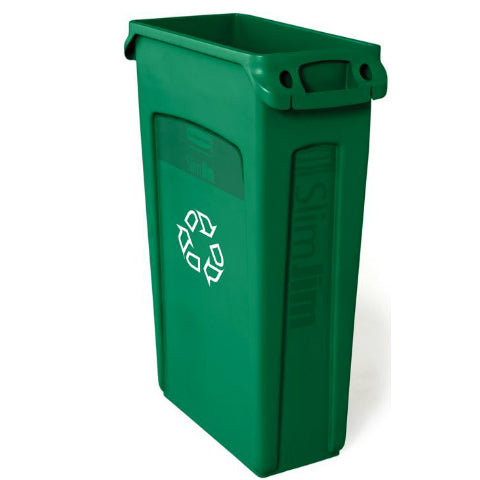 Slim Jim Bin with Venting Panels – Recycling Green