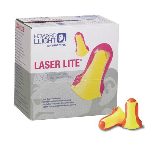 Laser Lite Ear Plug Uncorded Box 100
