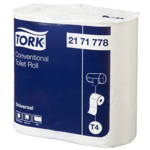 Tork Universal 1 Ply T/Roll 1000 sheets Carton 12X4 pack