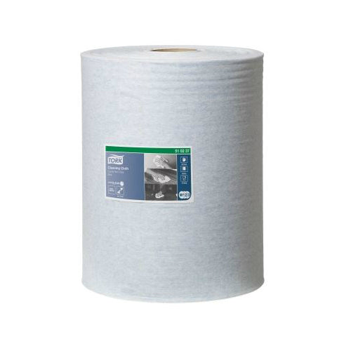 Tork Premium Multipurpose Cloth 510 Blue Combi Roll