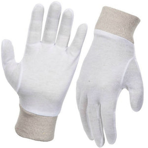 Interlock Cotton Glove Pkt 12