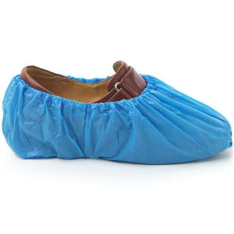Disposable Blue Shoe Covers Carton 2000