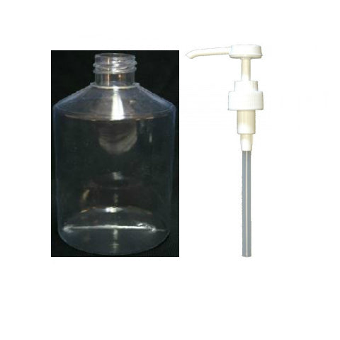 Bottle with Gel Pump 500ml