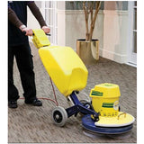 Cimex Cyclone CR48 Scrubbing Machine with Carpet Cleaning Brushes