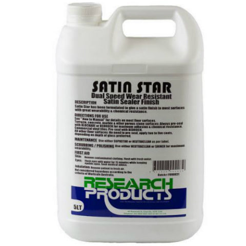 Satin Star Floor Sealer 5L