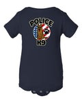 Kid Friendly Police K-9 Onesie