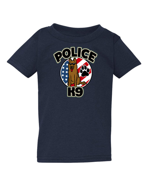 Kid Friendly Police K-9 Toddler Tee
