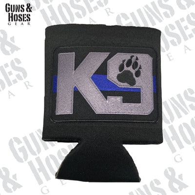 K9 Paw with TBL Koozie